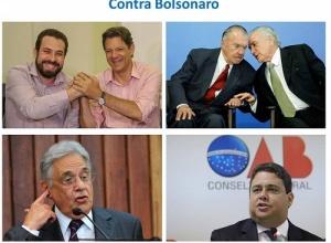 Ato virtual reúne FHC, Sarney, Temer, Haddad e Boulos e se compara com Diretas Já
