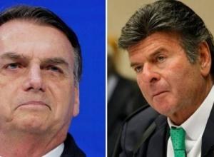 O que disse Fux a Bolsonaro no encontro