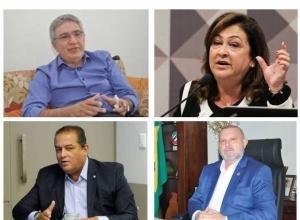 AS ENTRELINHAS DAS SITUAÇÕES DE LAUREZ MOREIRA, KÁTIA ABREU, EDUARDO GOMES E MAURO CARLESSE