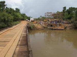 Governo do Tocantins investe R$ 3,7 milhões na construção de ponte sobre o Rio Formiga, no sudeste do Estado