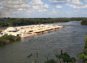 Veranistas comemoram início da temporada de praia no Tocantins