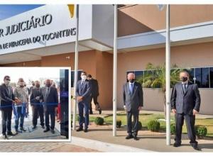 Vice-governador participa da inauguração da nova sede da Comarca de Miracema do Tocantins