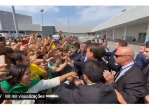 Durante evento em MG, Bolsonaro pede comparação do governo dele com o do PT