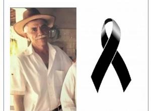 Nota de pesar - Valdemar Rodrigues Lima