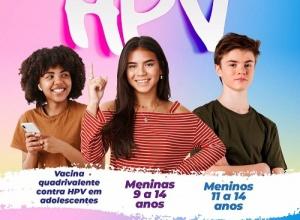 Ministério da Saúde amplia público para vacinação contra HPV