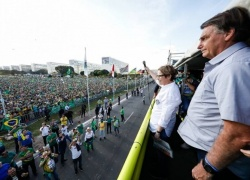 Manifestantes voltam às ruas em apoio ao governo do presidente Jair Bolsonaro