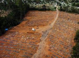 Brasil registra 3.780 mortes por Covid-19, um novo recorde em apenas um dia