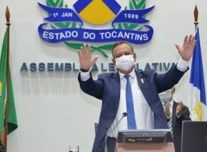 Antonio Andrade é reeleito por unanimidade presidente da Assembleia Legislativa