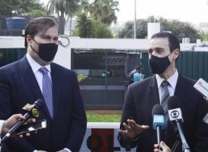 Rodrigo Maia recebe anteprojeto para controle de dados de investigações criminais