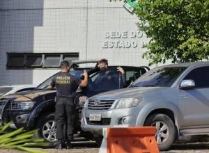Polícia Federal cumpre mandado de busca e apreensão sede do governo e na casa do governador do Amazonas